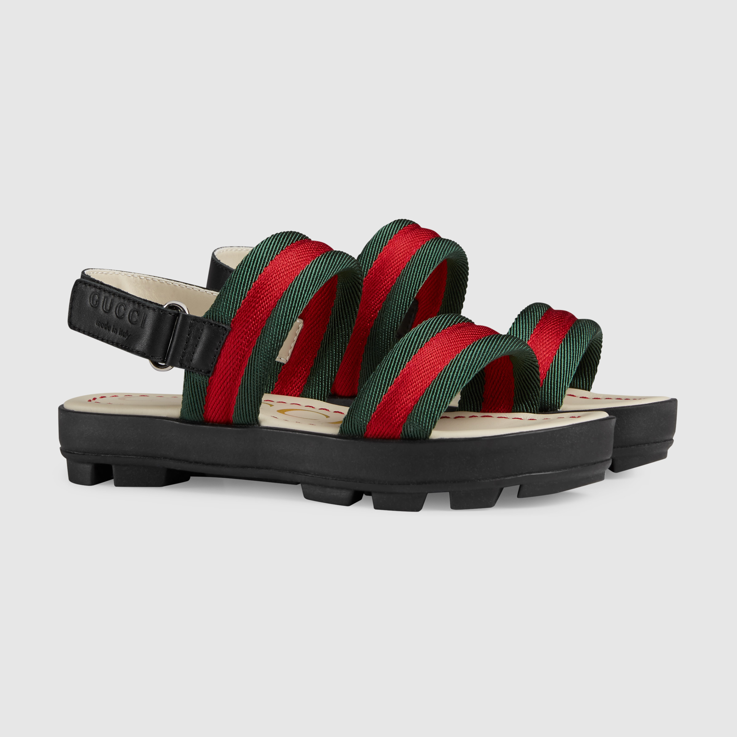 Buy Gucci Children leather and Web